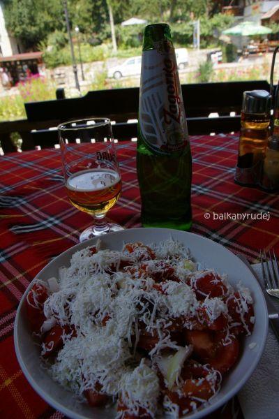 Szopska salata i Zagorka
