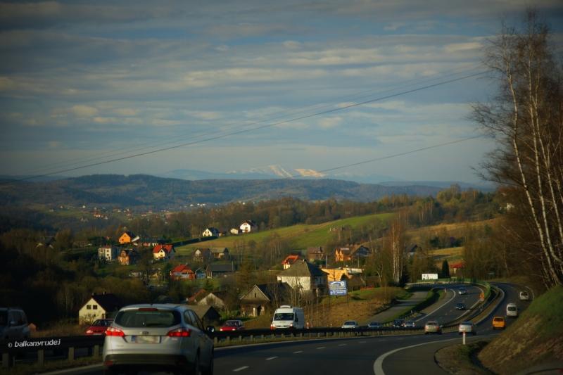 Tatry z okolic Krakowa