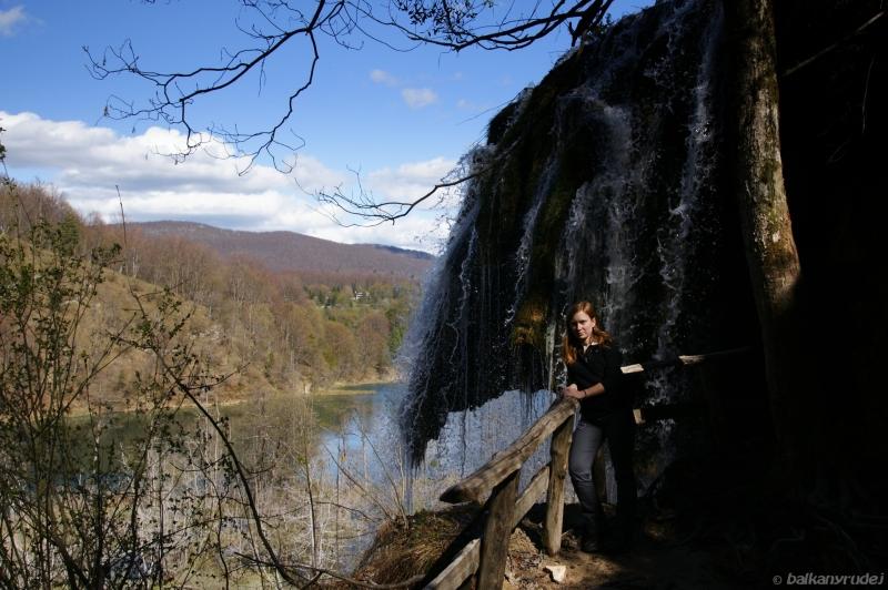 ruda, wodospad, Plitvickie Jezera