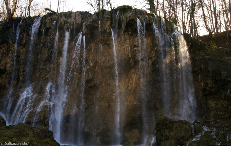 Plitvice wodospady