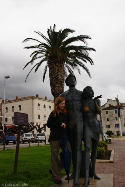 pomnik turystów w Makarskiej