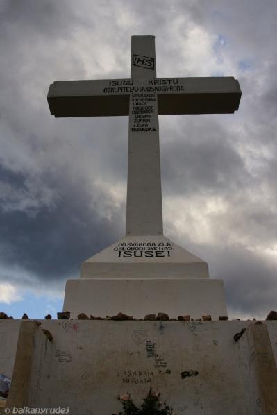 Góra Krzyża Medjugorie