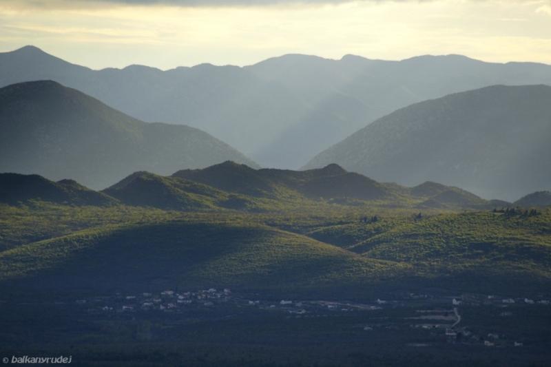 widok z Medjugorie