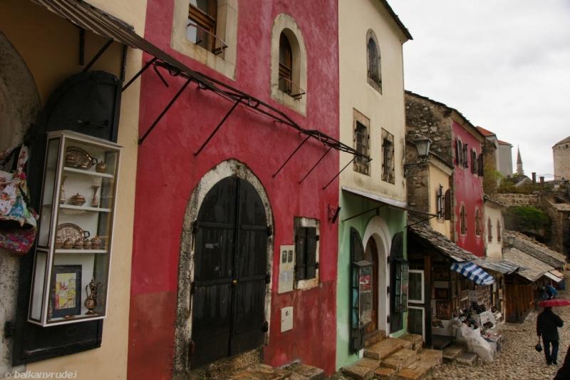 uliczka w Mostarze