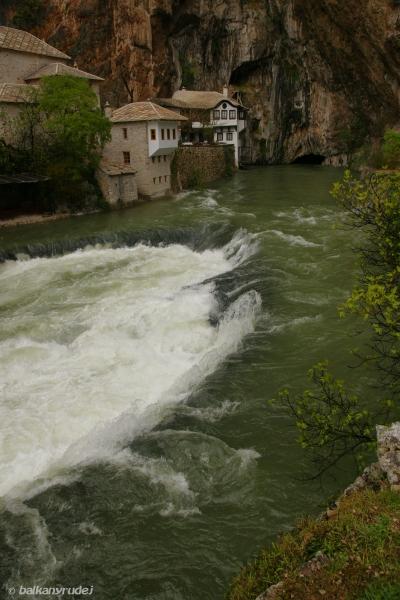 Blagaj, rzeka Buna