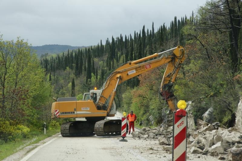 remont drogi na chorwacko-czarnogórskie przejście graniczne