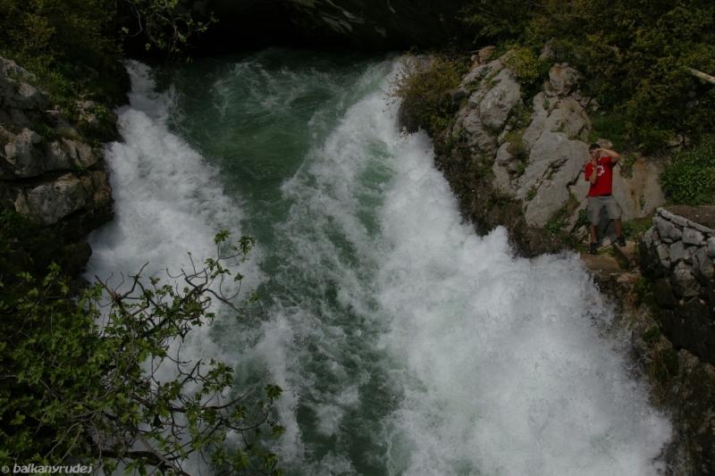 wodospad przy Boce Kotorskiej