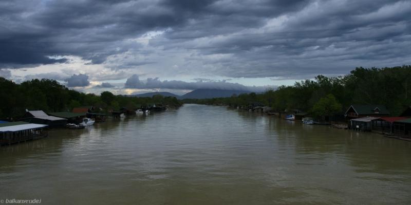 rzeka Bojana