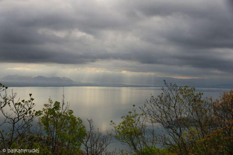 poranne Jezioro Szkoderskie