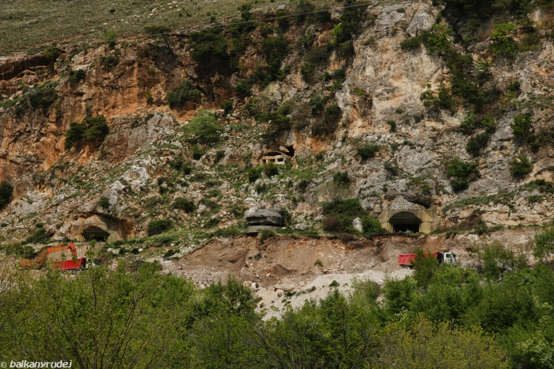 Albania bunkry
