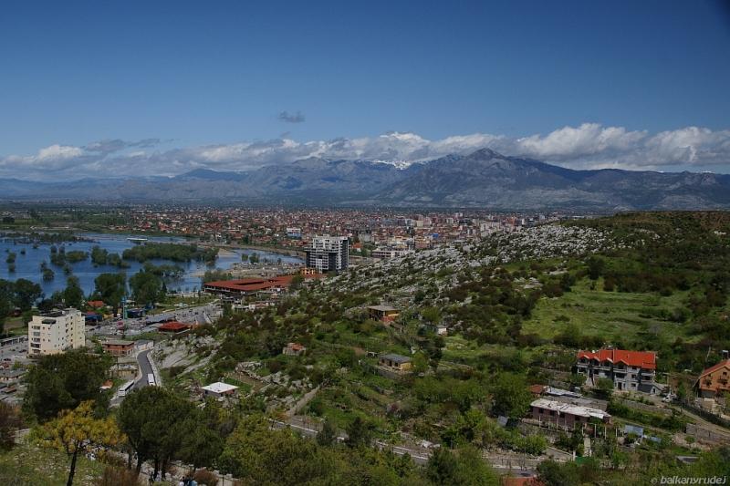 Shkoder i Alpy Albańskie