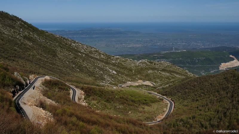 droga z Sarisalltikut do Kruji