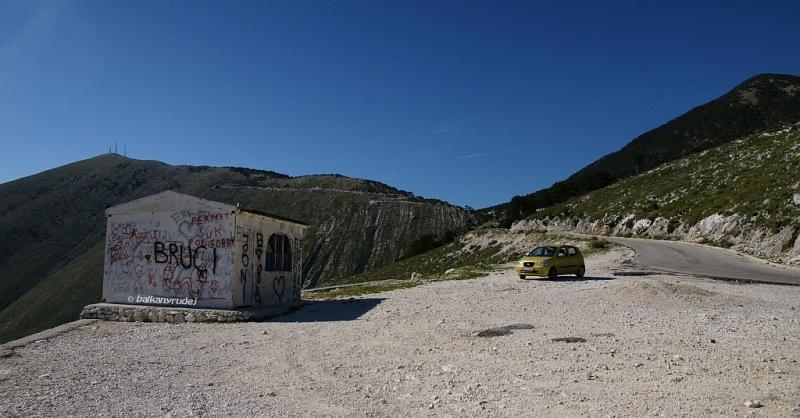 przełęcz Llogarase