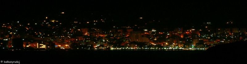 Saranda by night