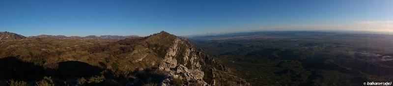 panorama na Albanię