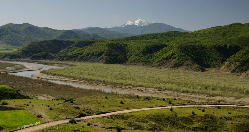 góry za Elbasanem
