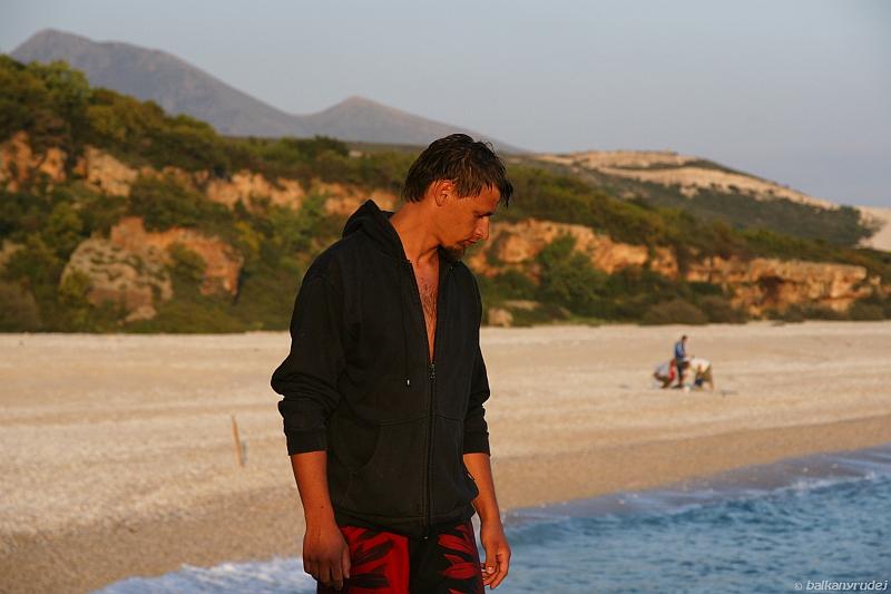 Marek, Albania, rybacy