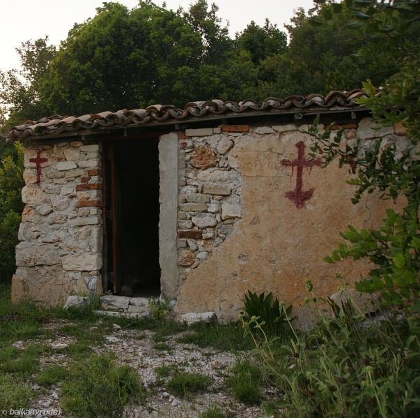 kapliczka Albania