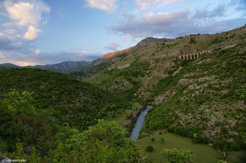 Czarnogóra kolej