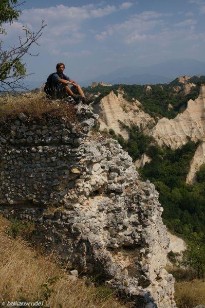 ruiny fortecy Melnik