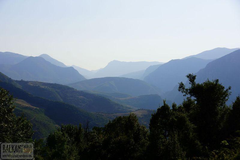 Albania góry