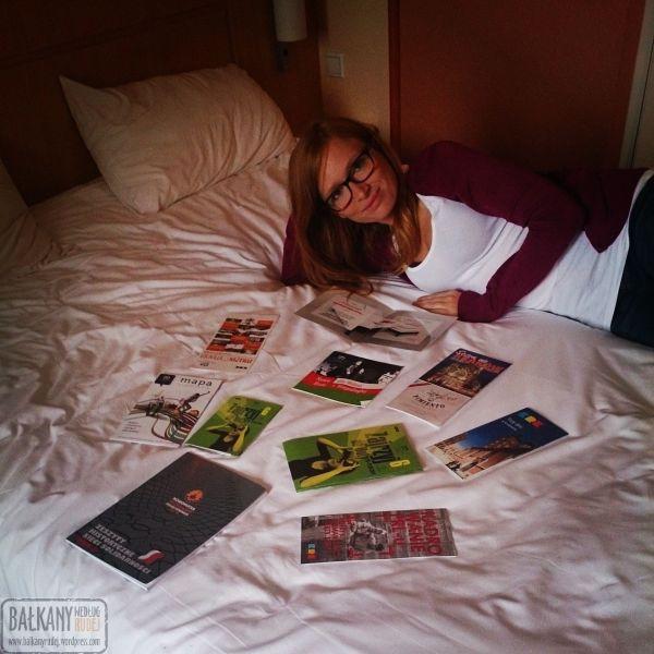 Ibis hotel łóżko