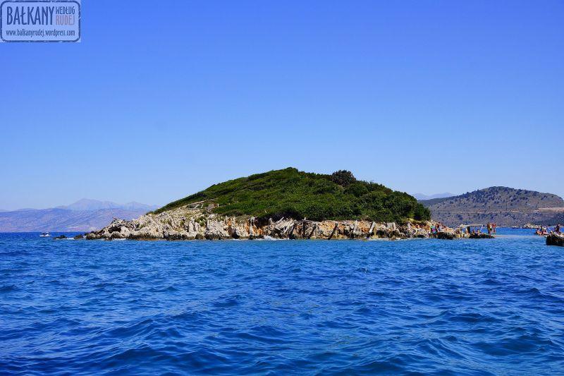 Ksamil wyspa